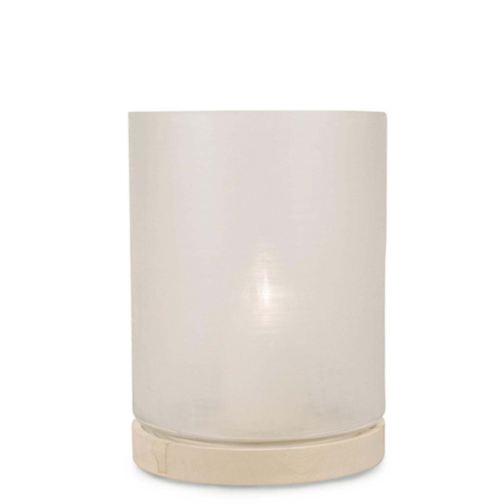 Guaxs Lantern Aran XL   Clear / Sycamore