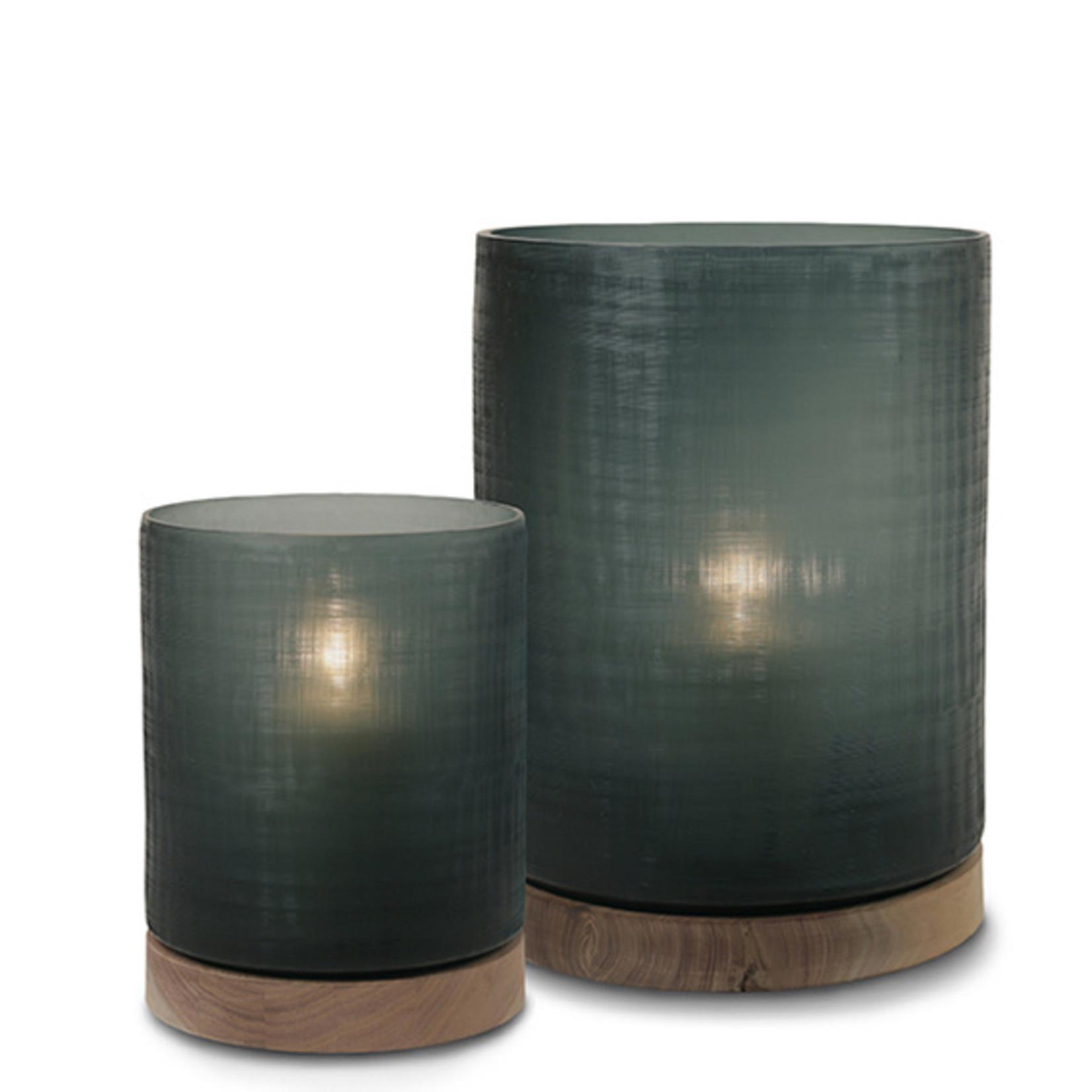 Guaxs Lantern Aran L | Dark Indigo / Walnut