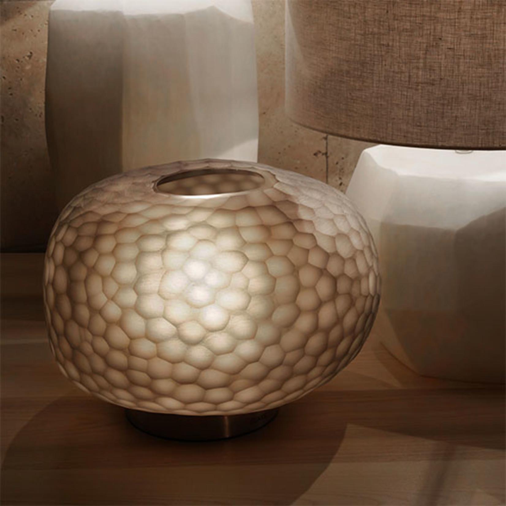 Guaxs Table lamp Erbse 1 | Clear / Smokegrey