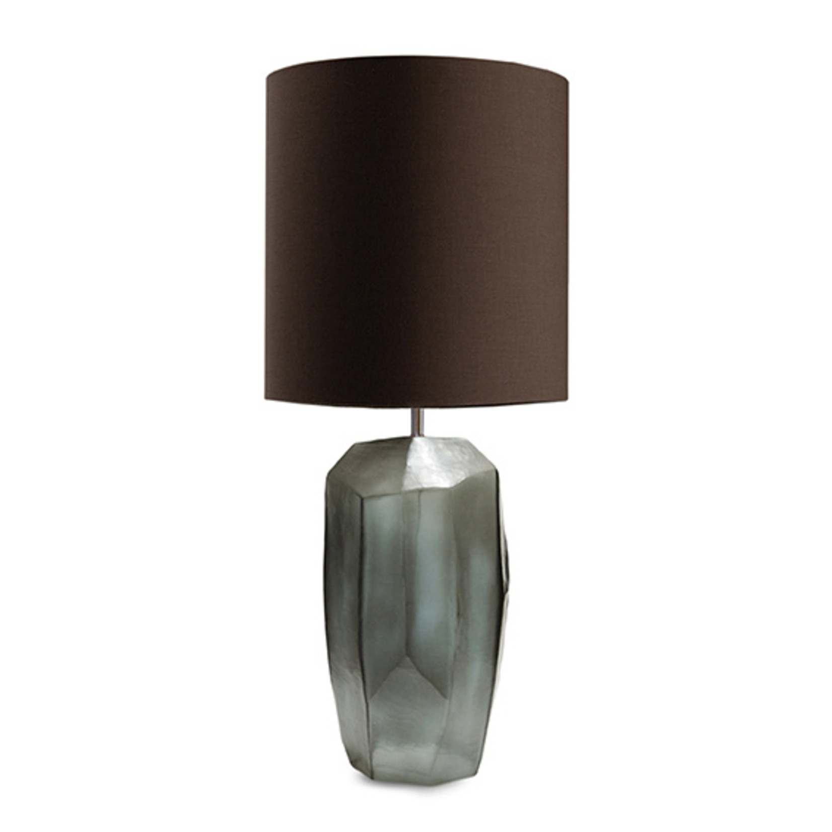 Guaxs Tafellamp Cubistic Tall | Indigo / Smokegrey