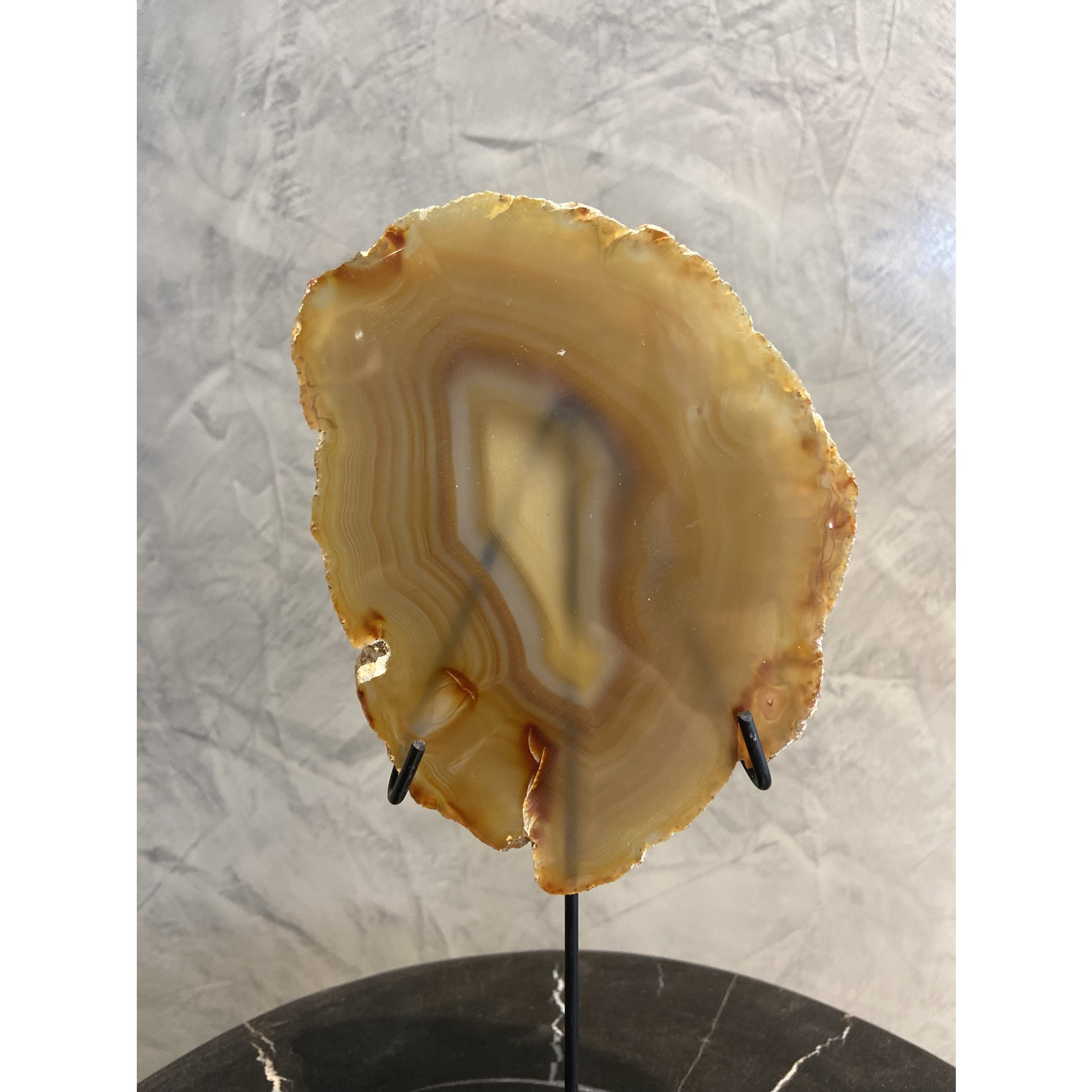 Agate stone on stand   3