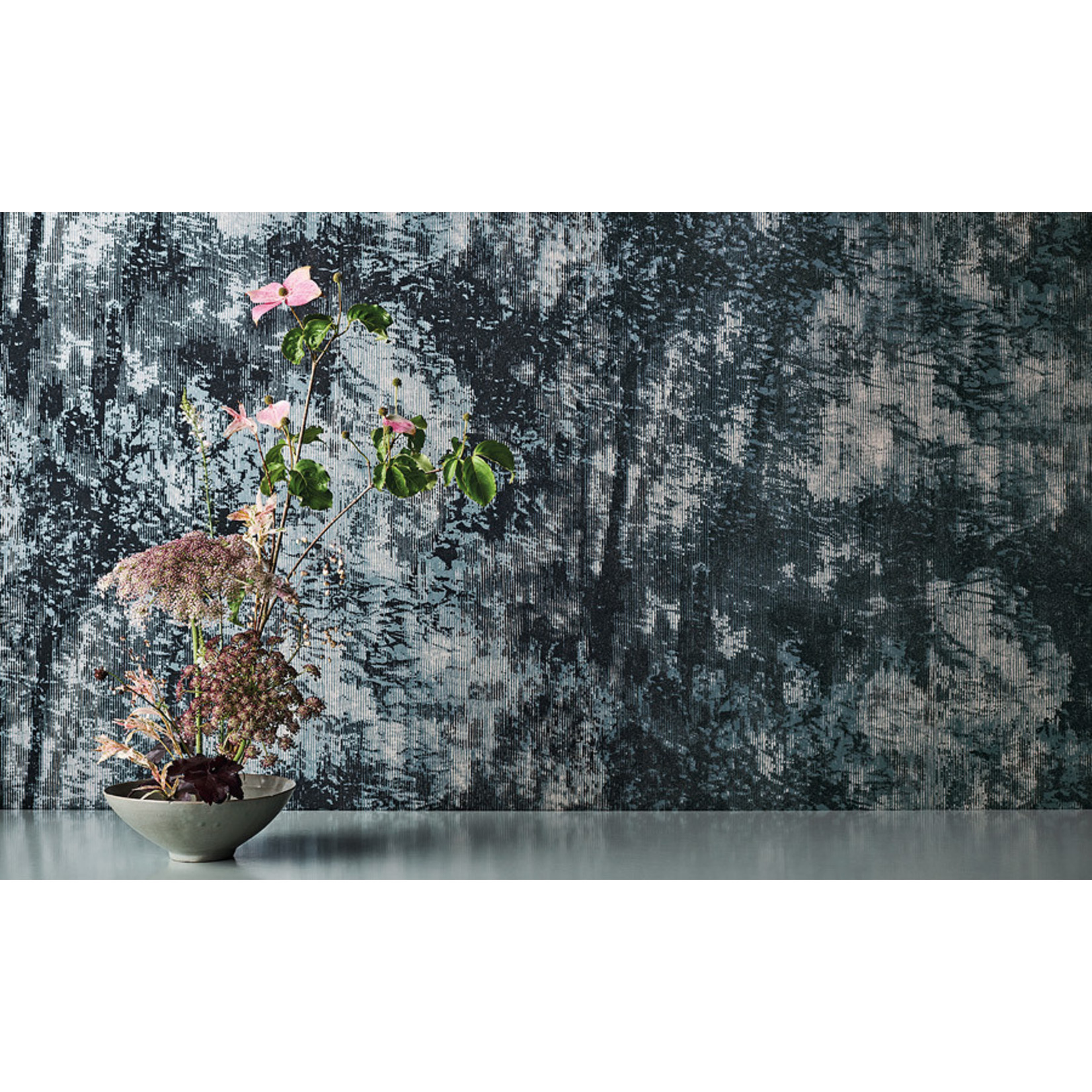 Black Edition Mizumi Wallcoverings | Utsuro Teal
