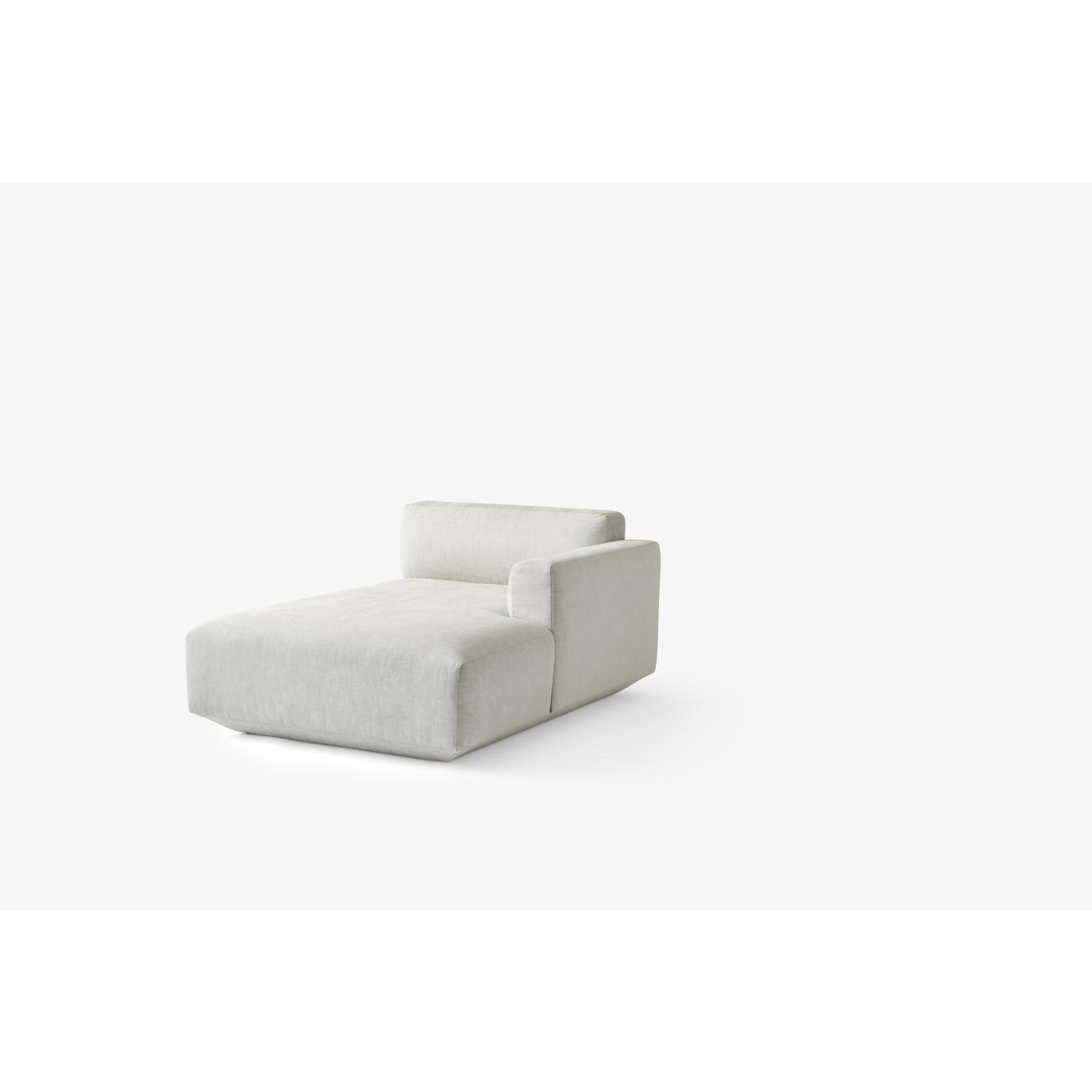 &Tradition Develius EV1I Right chaise long   Maple 112