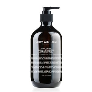 Grown Alchemist Hand Cream: Vanilla & Orange Peel - 500 ml