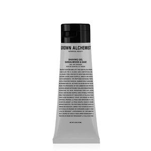 Grown Alchemist Shaving Gel: Sandalwood and Sage - 75 ml