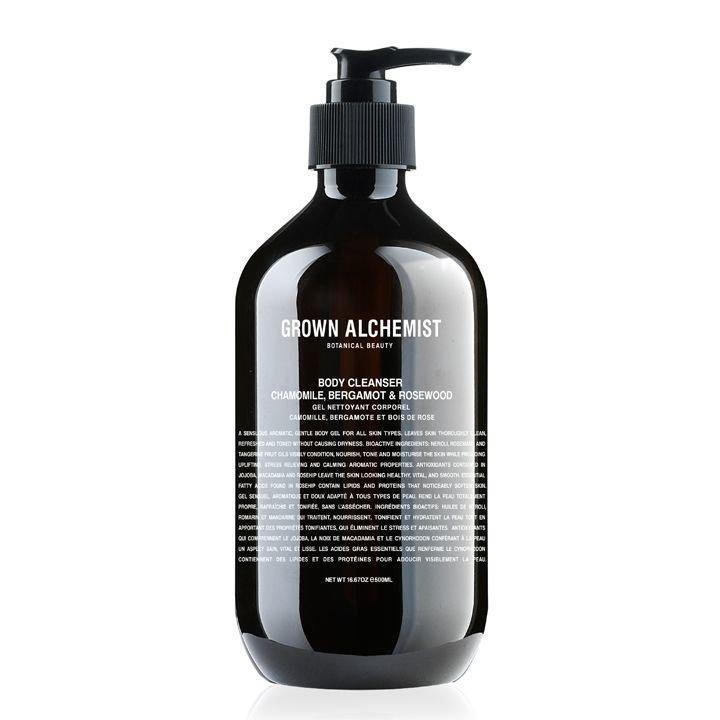 Grown Alchemist Body Cleanser: Chamomile, Bergamot & Rosewood 500mL