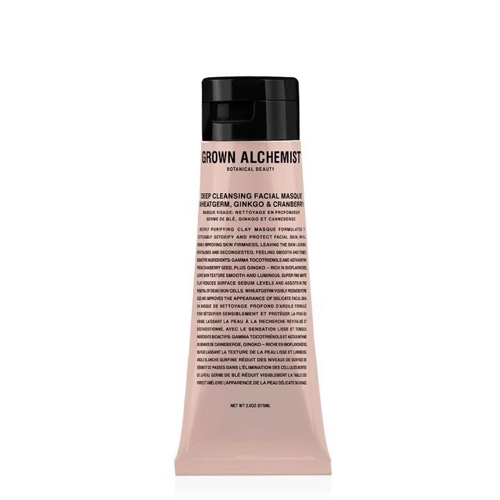 Grown Alchemist Deep Cleansing Masque: Wheatgerm, Ginkgo & Cranberry - 75 ml