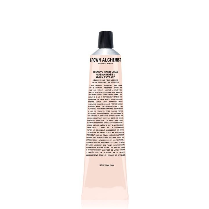 Grown Alchemist Intensive Hand Cream: Persian Rose & Argan Extract - 65 ml