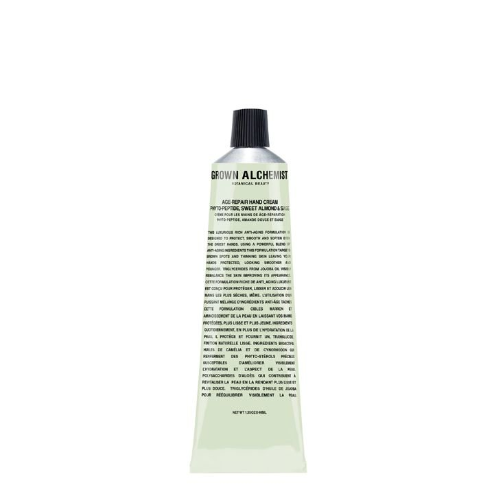 Grown Alchemist Age Repair Hand Cream: Phyto-Peptide, Sweet Almond & Sage - 40 ml