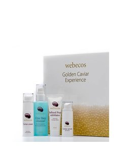 Webecos Giftset Golden Caviar Experience
