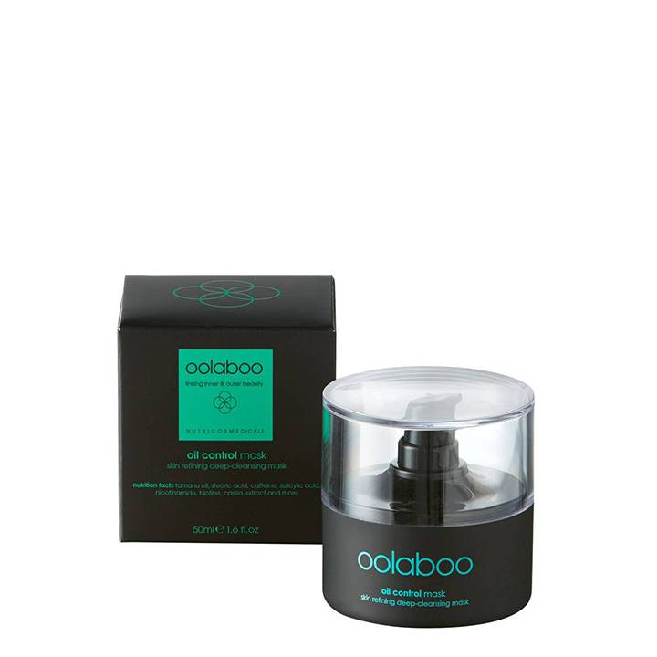 Oil Control Skin Refining Deep-Cleansing Mask