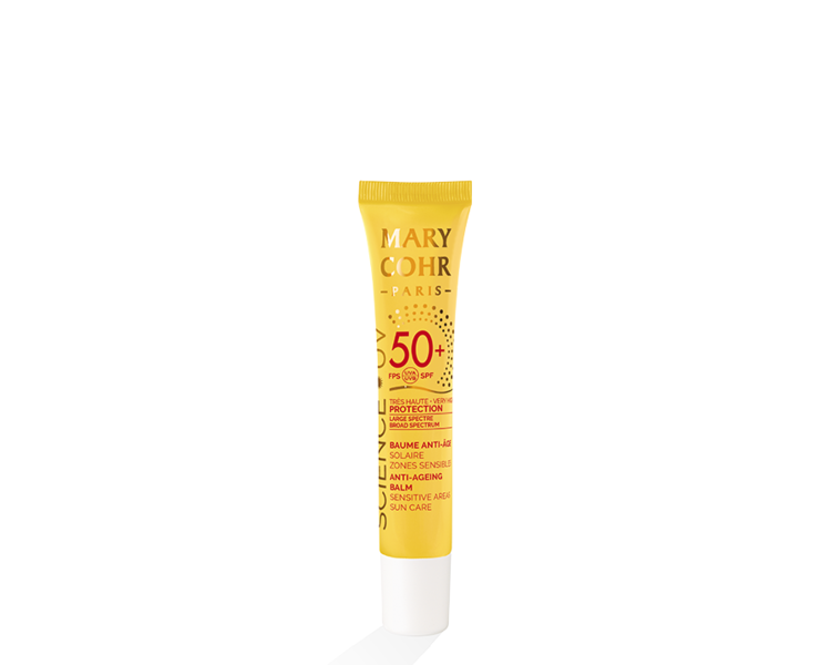 Mary Cohr SPF50+ Baume Anti-Age Solaire Zones Sensibles