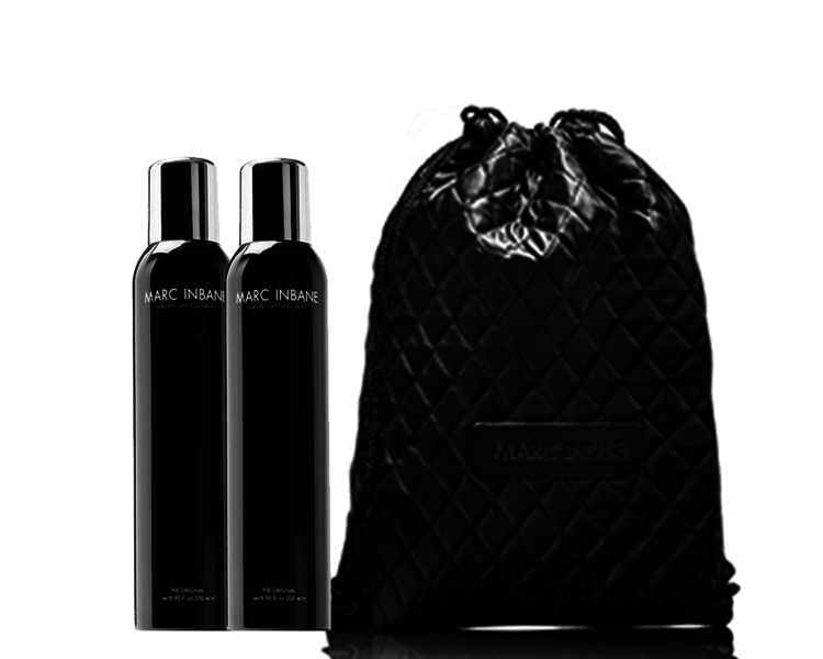 MARC INBANE Natural Tanning Spray Duo Set + Gratis Rope Bag