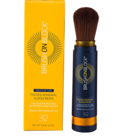 Susan Posnick Brush On Block Touch Of Tan SPF 30