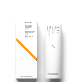 Neoderma Blue Blood Face Tinted Sunscreen [Beige] - SPF30