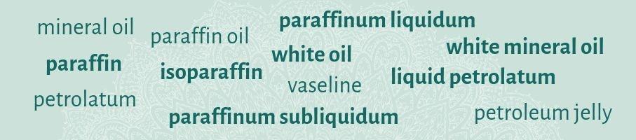 Minerale oliën in cosmetica