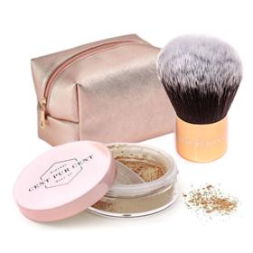 Cent Pur Cent Loose Mineral Foundation + Kabuki Brush | Meerdere kleuren