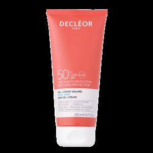 Decleor Aloë Vera Sun Gel Cream SPF 50+
