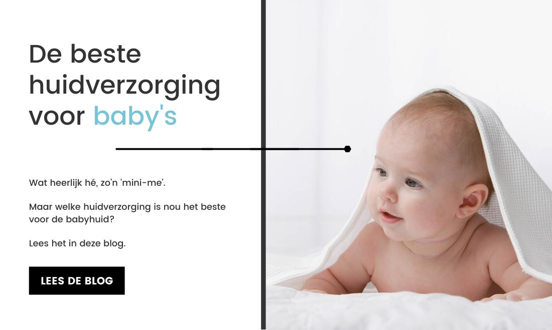 De beste huidverzorging voor baby's