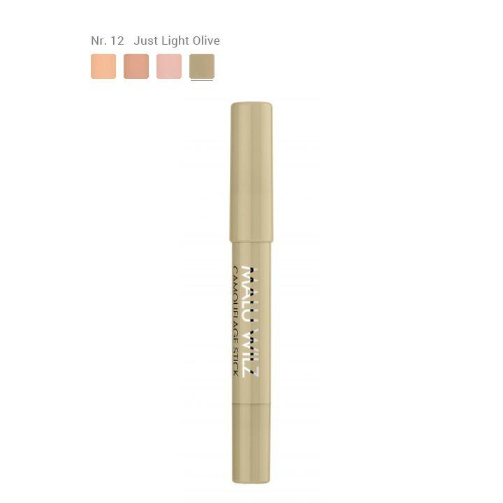 Malu Wilz Camouflage Stick - Nr.12 Just Light Olive
