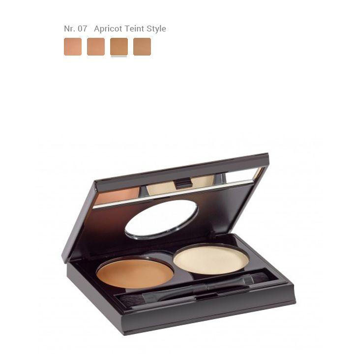 Malu Wilz Cream & Powder Concealer kit - Nr.7 Apricot Teint Style
