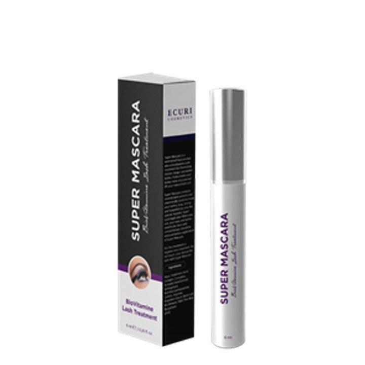 Ecuri Cosmetics Super Mascara - 6 ml