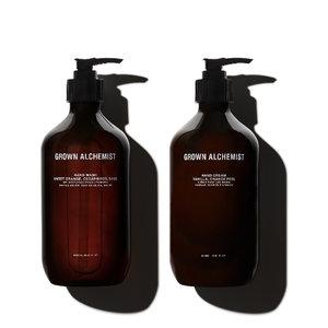 Grown Alchemist Hand Wash & Hand Cream 500mL Twin- Set