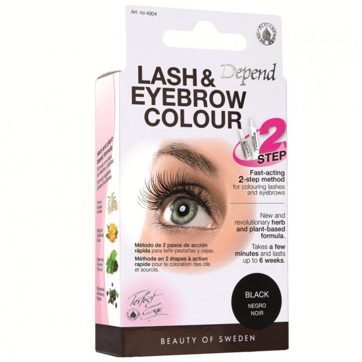 Depend Lash & Eyebrow Colour - BLACK