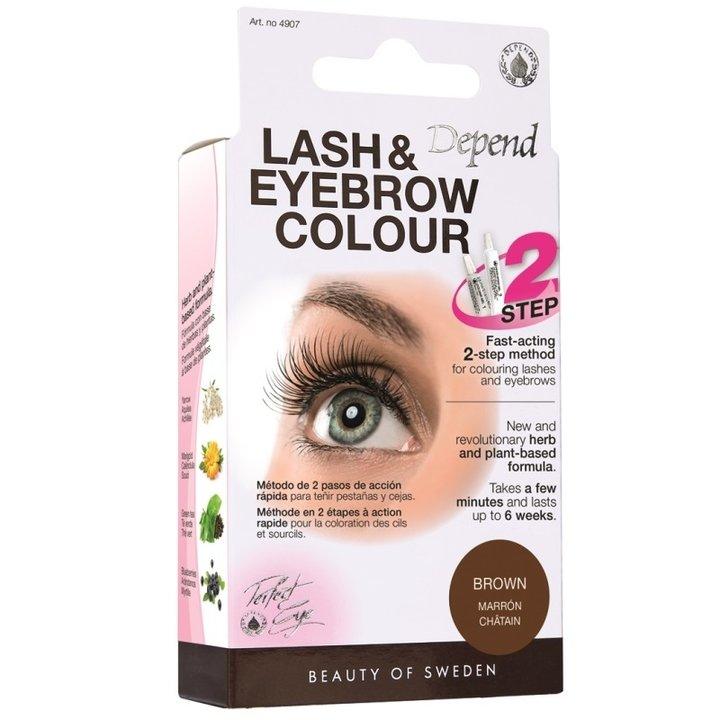 Depend Lash & Eyebrow Colour - BROWN