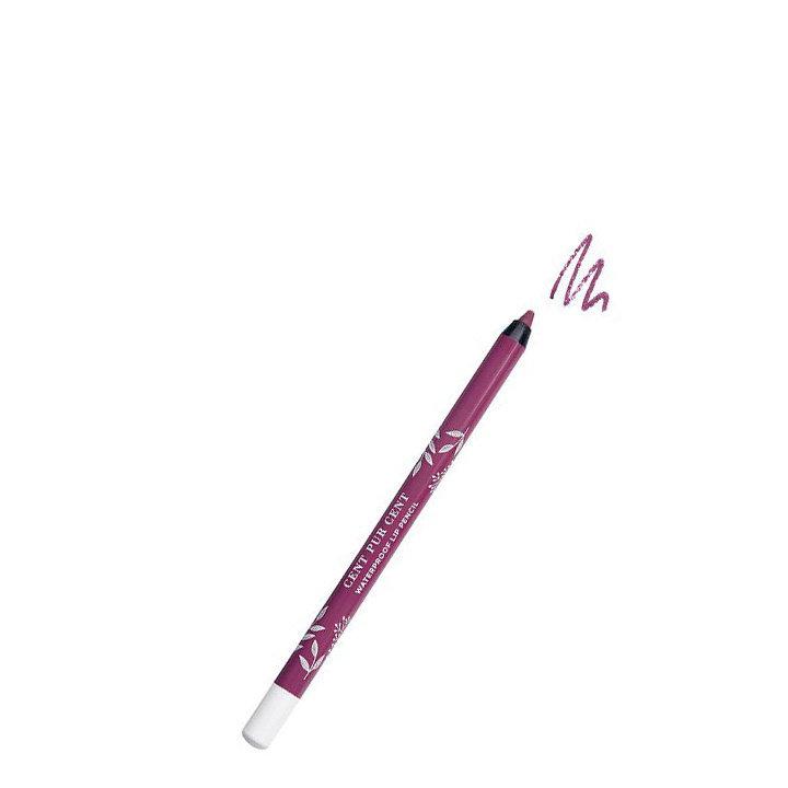 Cent Pur Cent Mineral Lip Pencil Waterproof - Cerise Claire