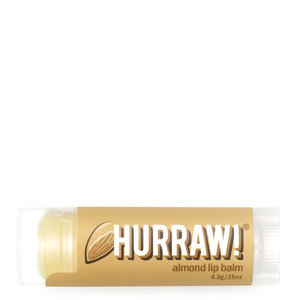 Hurraw Lip Balm - Almond