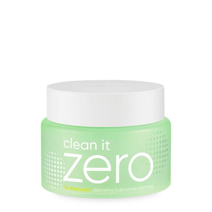 Banila Co Clean it Zero Tri Peel Acid Cleansing Balm Pore Clarifying