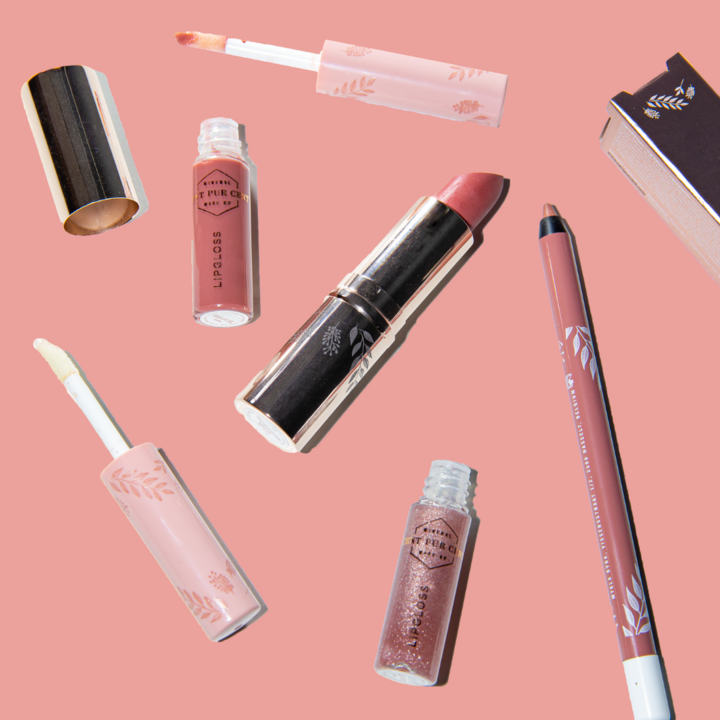 Cent Pur Cent Never Underestimate The Power Of Lipstick' Lipkit - Mocha