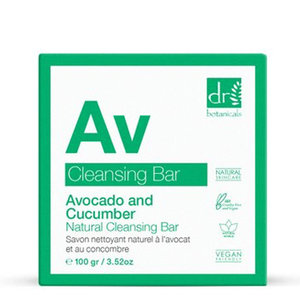 Dr Botanicals Avocado & Komkommer Natuurlijke Cleansing Bar