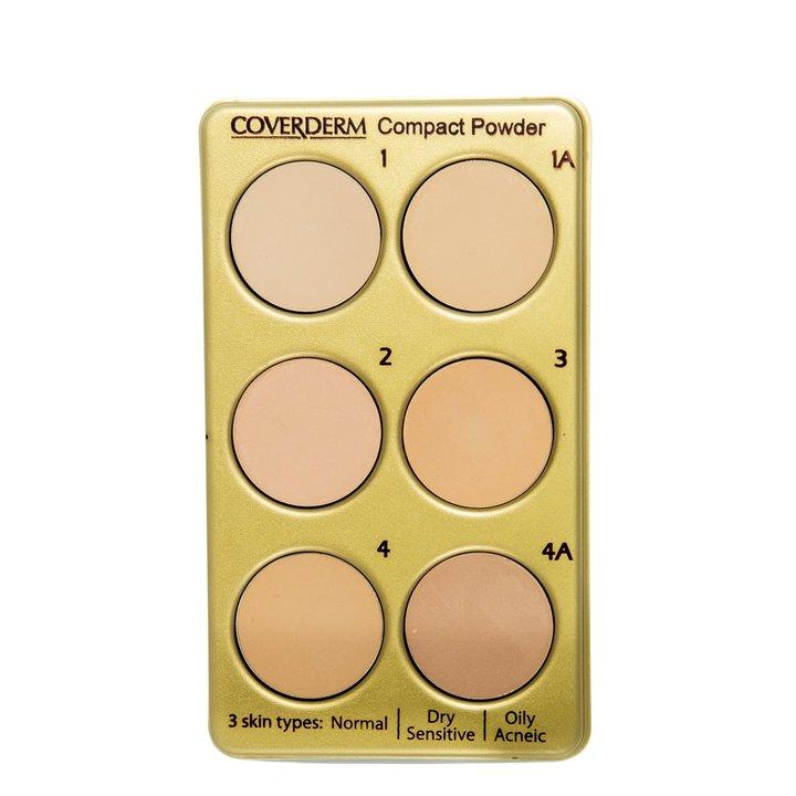 Coverderm Compact Powder Palette