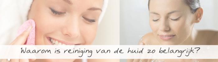 Belangrijkste in huidverzorging, Reiniging