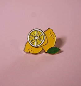 Foam Food Pin - Lemons