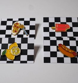Foam Set of 4 Food Pins