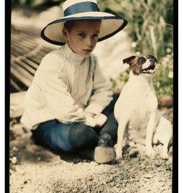 Foam Editions SOLD OUT / Piotr Ivanovich Vedenisov - Kolia Kozakov and the Dog Gipsy, Yalta 1910-1911