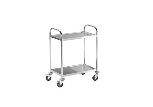 HapoH Stainless steel trolley