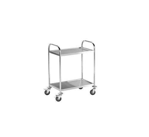 HapoH Stainless steel serving trolley