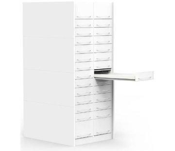 H-Box pharmacy drawer column (lockable)