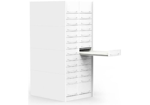 H-Box apotheekladekast kolom (afsluitbaar)