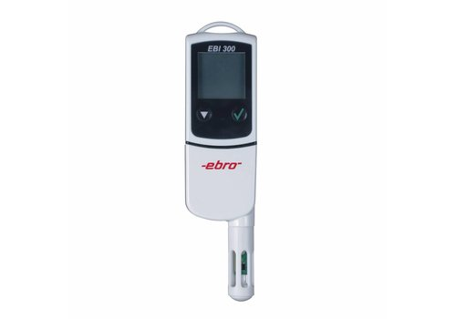 Ebro EBI-300 USB-logger + Luchtvochtigheid