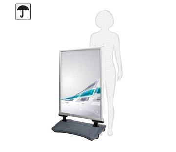 Regenbestendig stoepbord