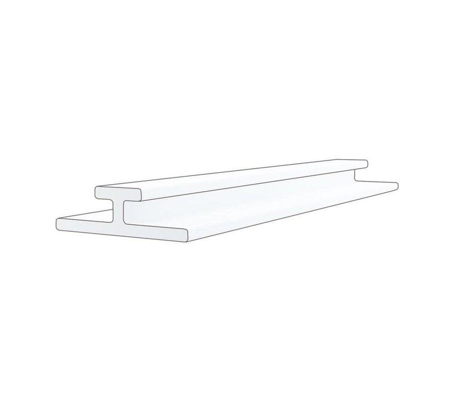 Verdeelprofiel / rails met tape