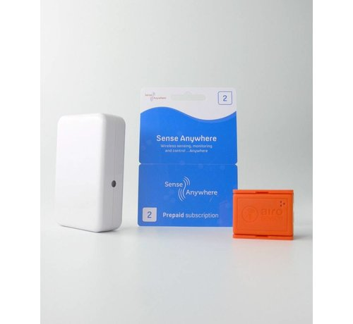 TempCube Starter kit with 1 logger and 2 credits