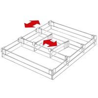 Lade indeling voor standaard lade 35mm hoog
