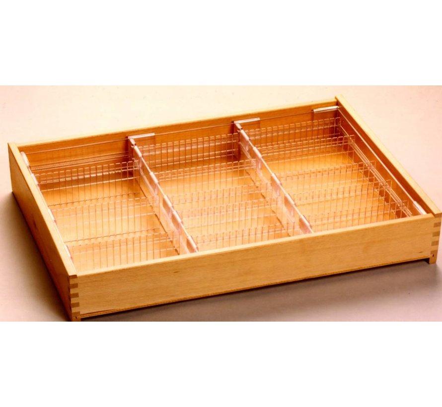 Drawer insert for standard drawer 35mm high