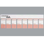 50 x 8 Minikaarten Semi ( diverse kleuren )
